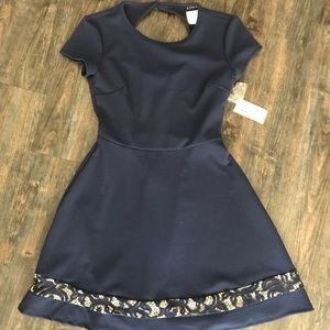 Formal Navy Dress
